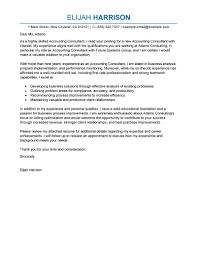 Best Consultant Cover Letter Examples Livecareer
