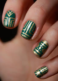 Nails design tape ~ Beautify themselves with sweet nails