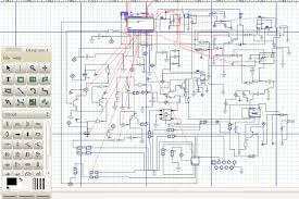 how to reverse engineer a schematic from a circuit board 18 steps schematic crop png