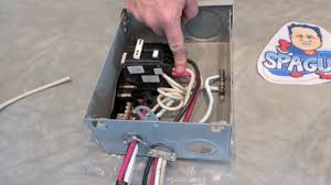hot tub gfci breaker information how to diy the spa guy youtube wiring a hot tub to fuse box at Wiring 6 Wire A Hot Tub