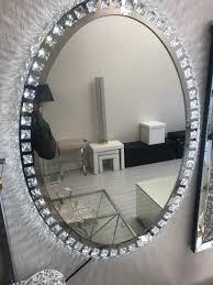 Mirror With Lights Ebay Modern Led Crystals Mirror Light Lighting Ebay Amazon Hallway Living Room Dinning Toilet 2019