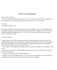 Supply contract is a well known type of contracts that may used to setup the criteria of working relationship according to the terms and conditions of a supply contract, a supplier, individual or a company agrees to continuously supply particular type of. 9 Fleet Management Contract Examples Pdf Examples