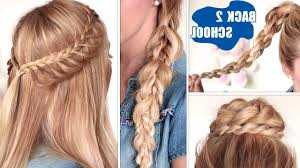 Quick Hairstyles For Braids Cute Hairstyles Braids For Medium Hair Easy Back To School