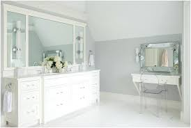 wall mounted bathroom cabinets white a comfy mount makeup vanity with ghost chair transitional cabinet storage mirror lights mounte