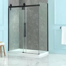 bathtub bathtub half glass panel image of shower door bathtub half