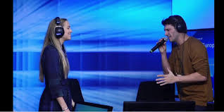 Current tour directed by bob tomson. Video The Actors Of Ghost The Musical Perform Unchained Melody Live On Europe 1 Teller Report