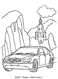 Print Bmw 7 Kleurplaat Coloring Collection Drawing For Kids