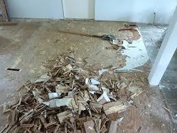 how to remove vinyl floor low budget plywood plank floors dork com remove vinyl flooring from