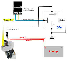 4 fuel pump wiring touch wiring diagrams fuel pump diagram for 2000 blazer at Fuel Pump Diagram