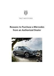 Discover the full range of mercedes benz cars in india. Reasons To Purchase A Mercedes From An Authorized Dealer
