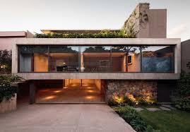 house basement garage. Interesting Basement Caucaso House Glass Facade On Basement Garage Homedit