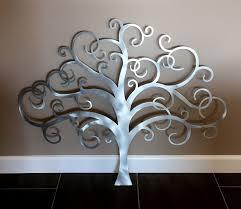 tree silver metal wall art on silver metal wall art trees with tree silver metal wall art andrews living arts very good silver