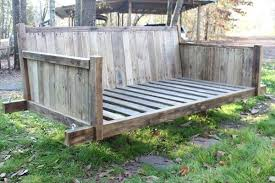 pallet bed swings pallet bed swing pallet swing bed instructions