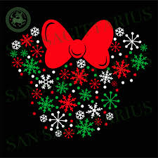 Christmas Mickey Head vector, Christmas Svg, Christmas Mickey svg, Mic –  San Sagittarius