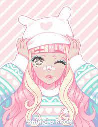 Cute Pastel Anime Pink Aesthetic Wallpaper