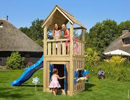 c h childrens wooden climbing frames club playhouse