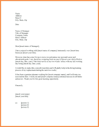 2 Week Resignation Letter Custom Letter Of Resignation Nursing 48 Formal 48 Week Notice Letter