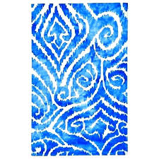 bright blue area rug bright blue 3 ft x 8 ft indoor runner rug pertaining to