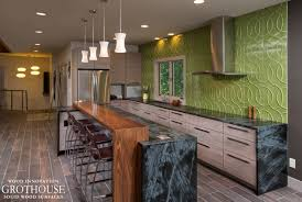 Kitchen Island With Bar Kitchen Island Bar Ideas With Grothouse Wood Surfaces Blog