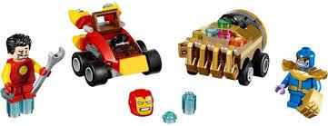 LEGO Mighty Micros: <b>Iron</b> Man vs. <b>Thanos</b> Instructions 76072 ...