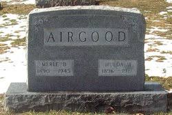 Merle Dudley Airgood (1890-1945) - Find A Grave Memorial