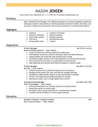 Complex Best Resume Format For Marketing Marketing Resume