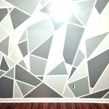 painters tape art designs wall painting