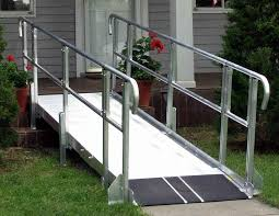 image of new ramps for wheelchairs