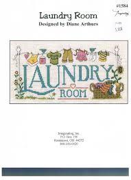 Diane Arthurs Cross Stitch Designs Laundry Room Cross Stitch Patterrn Diane Arthurs Amazon