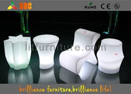 polyethylene furniture. polyethylene bar furniture led lighting stools with wireless remote control