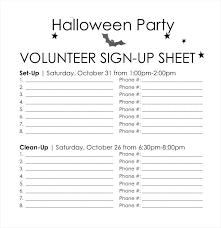 volunteer sign up sheet templates printable volunteer sign up sheet form template potluck free