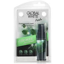 Купить <b>Освежающий спрей для</b> полости рта 15 мл Global white ...