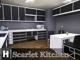 Sims Kitchen Mod The Sims Scarlet Kitchen 11122011 Updated