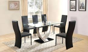 dining room decorations glass dining table and 6 chairs glass dining room table 6 chairs modern