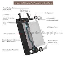 Apple iPhone 6 Plus LCD and Digitizer Assembly Gold - ETrade Supply
