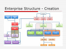 Sap Sd Organizational Structure Flow Chart Sap Enterprise Structure Example