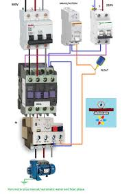 35 best Électricité images on pinterest electrical engineering 4 wire submersible pump wiring diagram electrical diagrams pum motor plus manual automatic water and float p