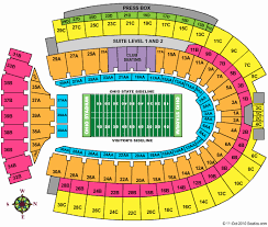 Ohio State Buckeyes Stadium Seating Chart Prototypical Ohio State University Football Stadium Seating