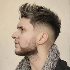 10 fauxhawk with shaved temples
