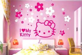 modern decor wall sticker art deco hello kitty