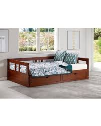 trundle daybed with storage. Unique Storage Melody Twin To King Trundle Daybed With Storage Drawers Chestnut Brown  Bolton With W