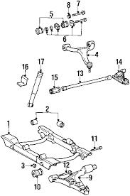 parts com® mercedes benz ml430 stabilizer bar components oem parts 1999 mercedes benz ml430 base v8 4 3 liter gas stabilizer bar components