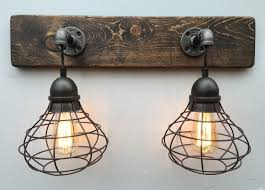 rustic bathroom vanity lights. Stunning Cabin Vanity Lights Sofa Rustic Bathroom For Lodge Lighting Gmotrilogy I