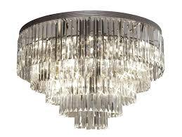 flush mount chandelier crystal living charming ceiling mounted chandelier flush ceiling mounted chandelier flush nerisa 4