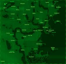 fallout  map with real boston areas  fo