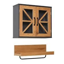 kleankin 2pc wall mounted bathroom set