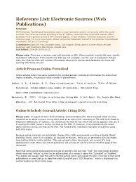 Apa Digital Object Identifier Citation