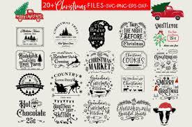 Caluya design   free svg. Christmas Farmhouse Bundle Svg Design Graphic By Freelingdesignhouse Creative Fabrica