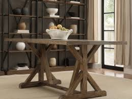 a beautiful dining table that es with the updated twist and showcases the oak finished