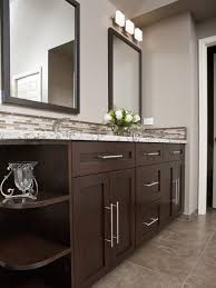 Dark bathroom vanity Espresso Bathroom Vanity Ideas Bathroom Remodeling Hgtv Remodels Cherus Shower Bathroom Bathroom Cabinets Bathroom Renovations Pinterest Bathroom Vanity Ideas Bathroom Remodeling Hgtv Remodels
